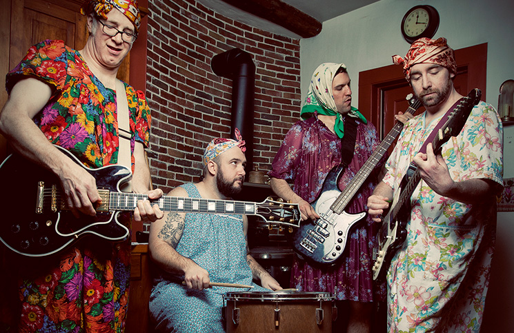 The Landladys are among the acts performing at Takedown.