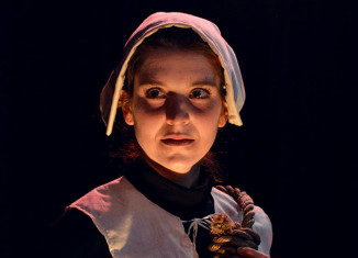 """A publicity photo for New Hampshire Theatre Project's production of """"The Crucible."""""""