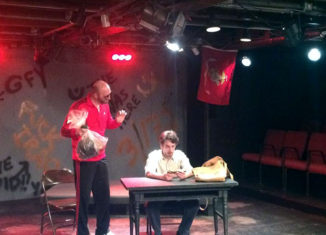 """Bengal Tiger at the Baghdad Zoo"" is on stage at The Players' Ring in Portsmouth."