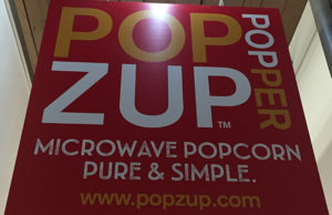 Popzup Popper sign in Dover, NH.