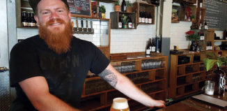 Jack Van Paepeghemg of Oxbow Brewing Co. in Portland, Maine, is one of just six people who has earned Cicerone's Advanced certification