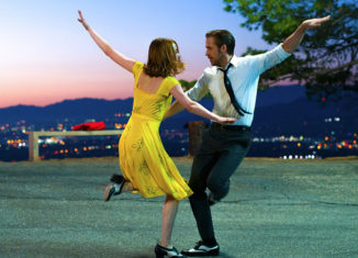 "Emma Stone and Ryan Gosling star in ""La La Land,"" one of six featured films in Telluride by the Sea."