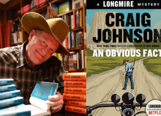 Craig Johnson brings the latest installment of his popular Longmire mystery series to Portsmouth, NH, on Sept. 14.