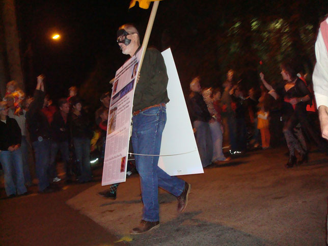 Steve Fowle Portsmouth Halloween Parade