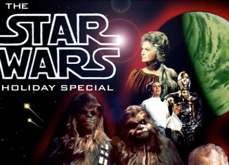 An image from the Star Wars Holiday Special.