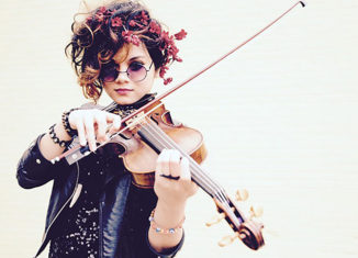 Daisy Castro joins The Hot Club of Portland at The Dance Hall in Kittery, Maine, on Aug. 26.