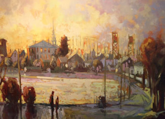 """""""Mill Pond"""" by Lennie Mullaney is part of the new exhibit at the Gallery at 100 Market, opening Friday night during Art 'Round Town."""